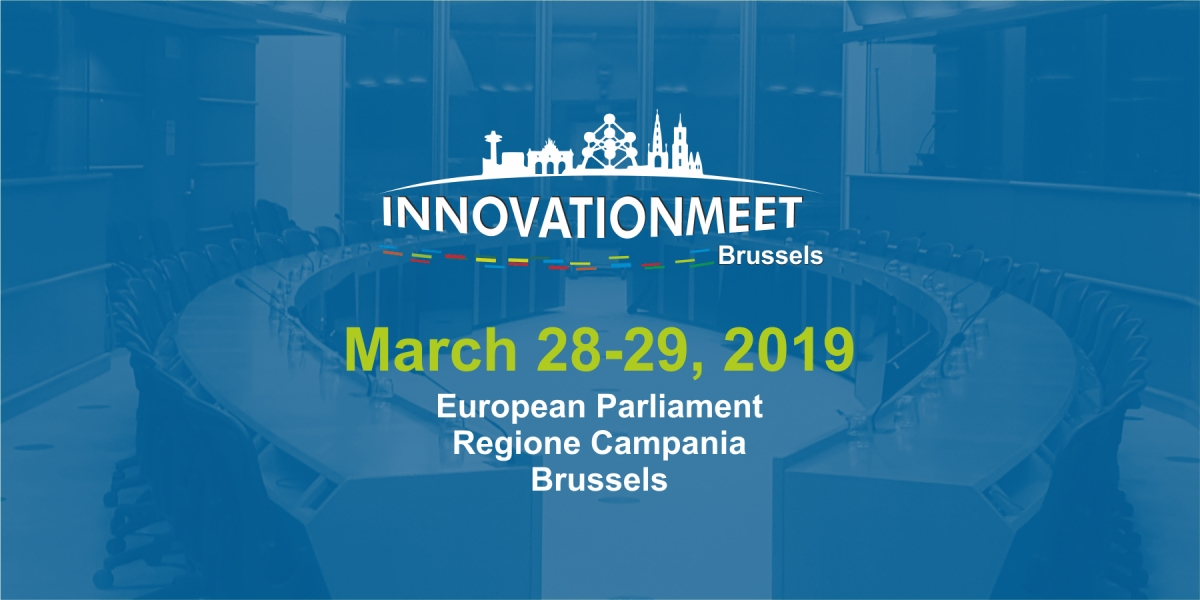 Innovationmeet 2019 Brussels Conference Agenda